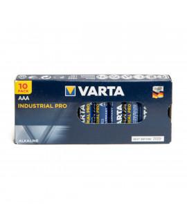 10 AAA Varta Industrial Pro