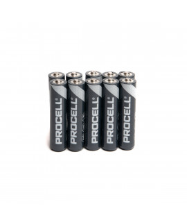 10 AAA Duracell Procell