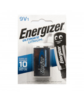 9V Energizer Ultimate Lithium