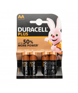 4 AA Duracell Plus - blister