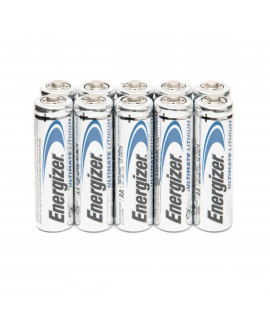 10 AA Energizer Ultimate Lithium L91