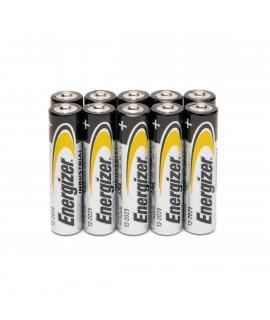 10 AAA Energizer industrial