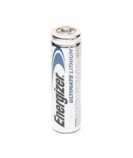 1 AA Energizer Ulthimate Lithium batterijen L91 - 3000 mAh