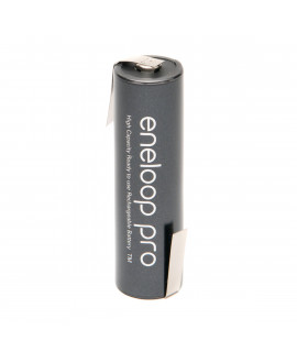 1 AA Eneloop Pro met Z-lip - 2500mAh