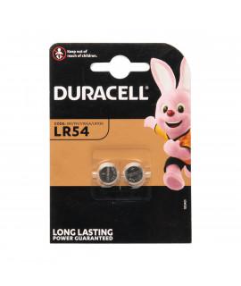 2x LR54 (189/V10GA) Duracell - 1,5V