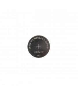 LIR2450 herlaadbare li-ion knoopcel - 120mAh