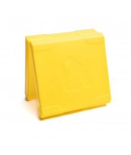 4x18650 Chubby Gorilla batterijdoosje - Geel