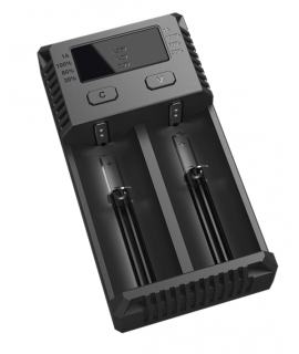 Nitecore Intellicharger i2 EU batterijlader