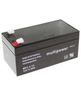 Multipower 12V 3.4Ah Loodaccu