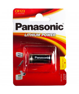 10x Panasonic PHOTO power CR123A - blister