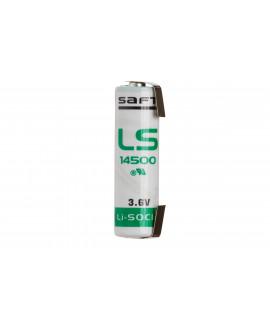 SAFT LS14500 / AA Lithium met U-tags - 3.6V