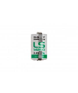 SAFT LS14250 / 1/2AA Lithium met u-tags - 3.6V