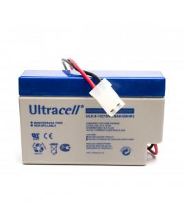 Ultracell 12V 0.8Ah loodaccu met AMP stekker