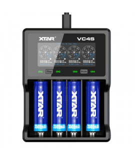 XTAR VC4S batterijlader