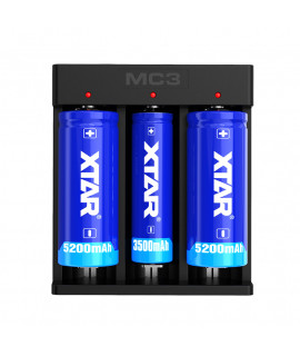XTAR MC3 batterijlader