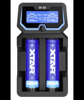 XTAR X2 batterijlader